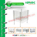 wire mesh supermarket promotion display